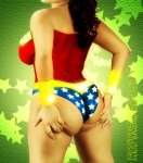 Wonder Woman wedgie
