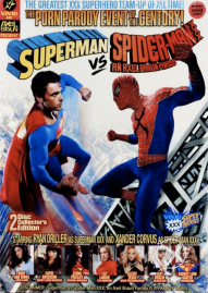 Superman vs Spiderman box art