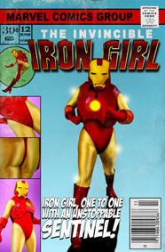 Iron Girl comic book