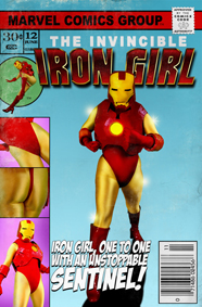 Iron Girl comic book