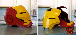 iron girl helmet